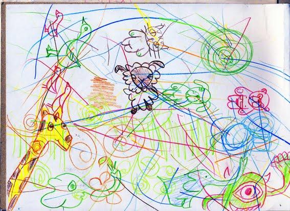 Mae sketch of Mike Kasowski