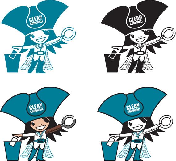 Clean-Cornwall-Captain-Clean-logo-by-Darren-Whittington