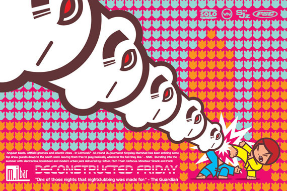 Deconstructed Friday Flyer by Darren Whittington No.4