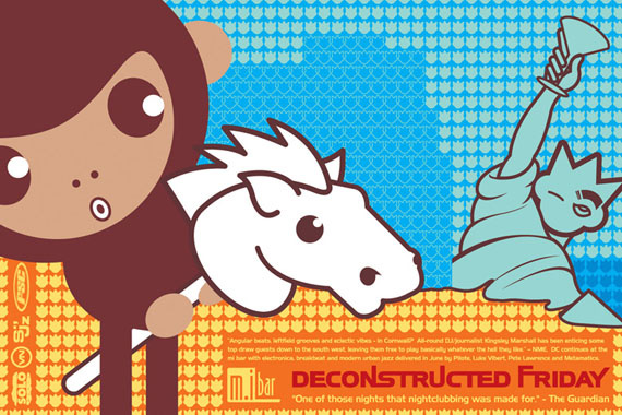 Deconstructed Friday Flyer by Darren Whittington No.5