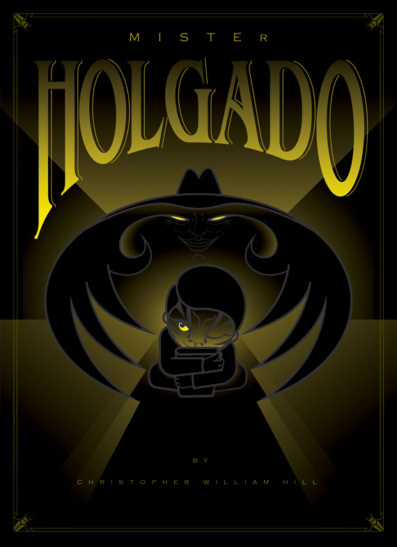 Mister Holgado Book Jacket by Darren Whittington