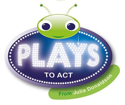 Plays-to-act-logo-for-Julia-Donaldson-by-Darren-Whittington