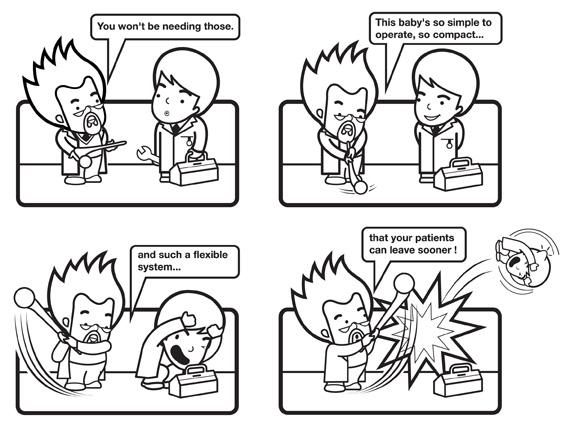 Smith-&-Nephew-'Synergy'-comic-strip-by-Darren-Whittington